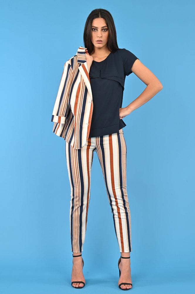 wholesale dealer 4deeb ded79 Blazer donna a righe | Curvy Fashion | Meteore Fashion