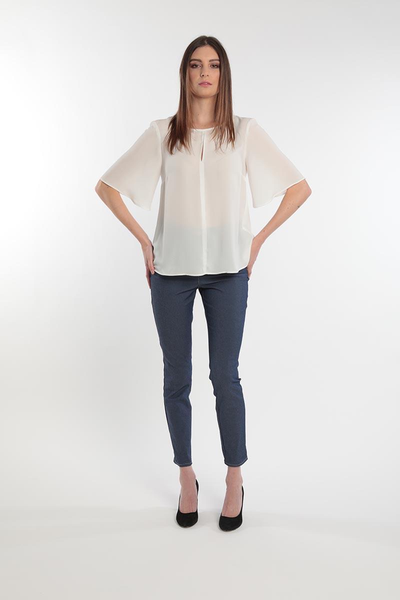 camicia con maniche ampie Primavera 2020 Meteore Fashion