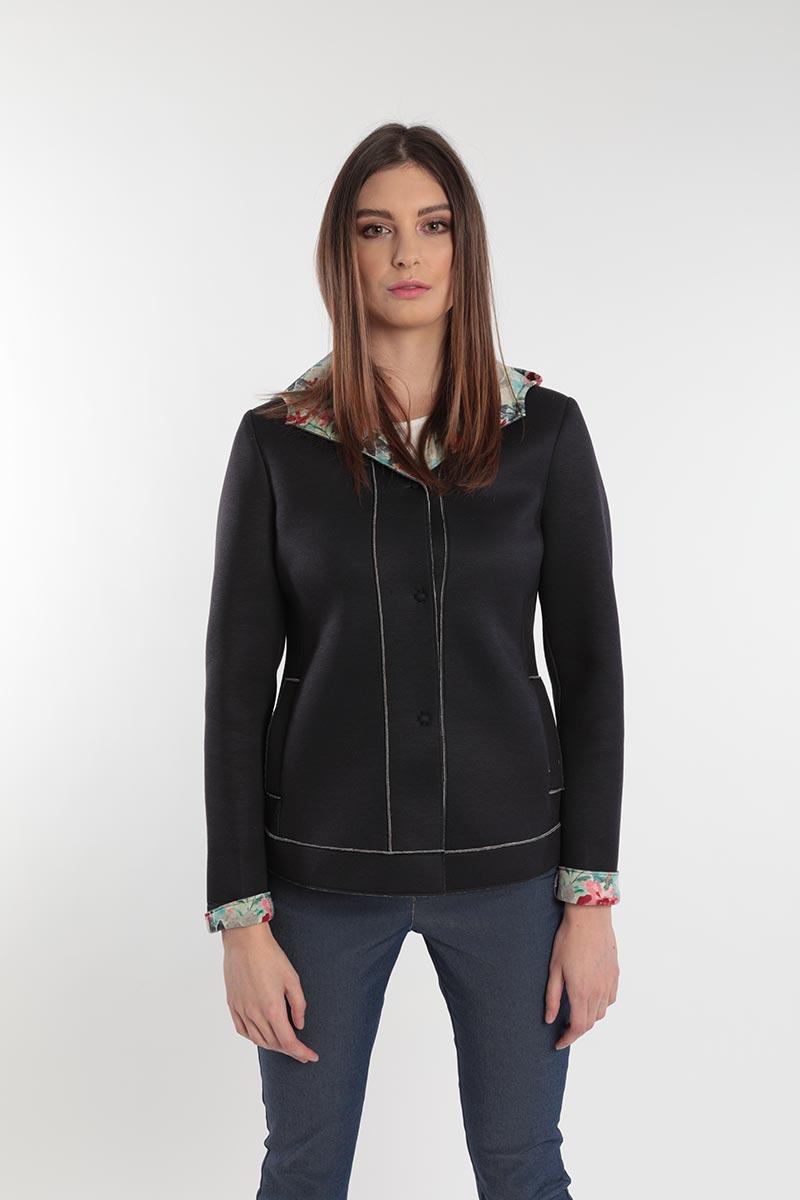 Giacca per donne curvy primavera 2020 Meteore Fashion