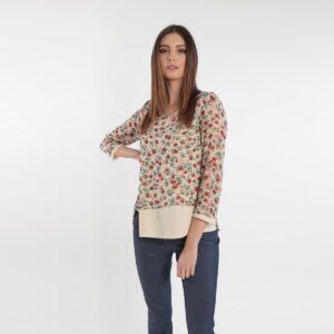 Camicia a fiori primavera 2020 Meteore Fashion
