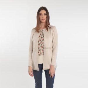 giacca scamosciata nei colori pastello primavera 2020 Meteore Fashion