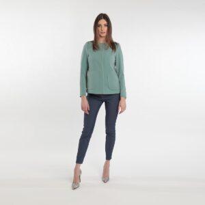 Giacca corta a trapezio donne curvy primavera 2020 Meteore Fashion