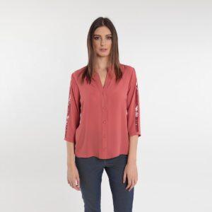 camicia con pailletes Primavera 2020 Meteore Fashion