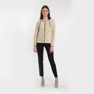 spolverino in ecopelle cangiante donna primavera 2020 Meteore Fashion