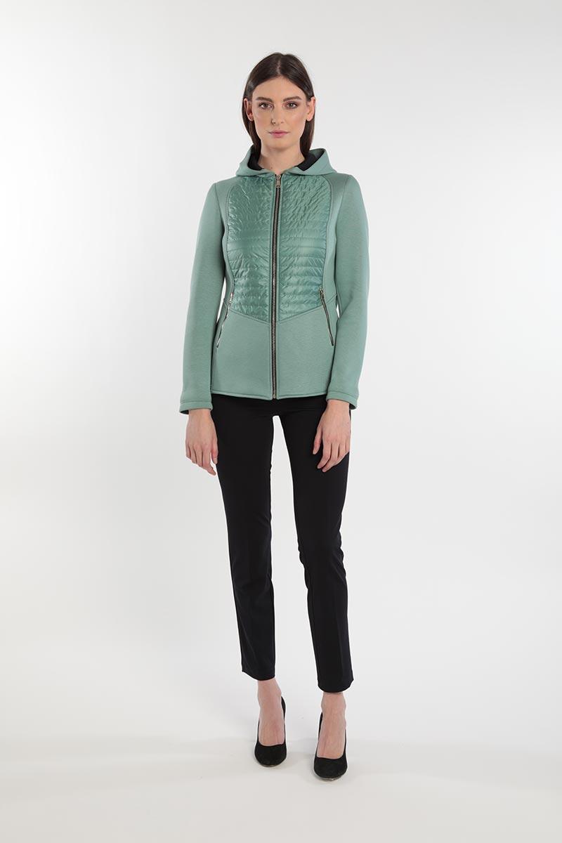 Giacca trapuntata da donna primavera 2020 Meteore Fashion