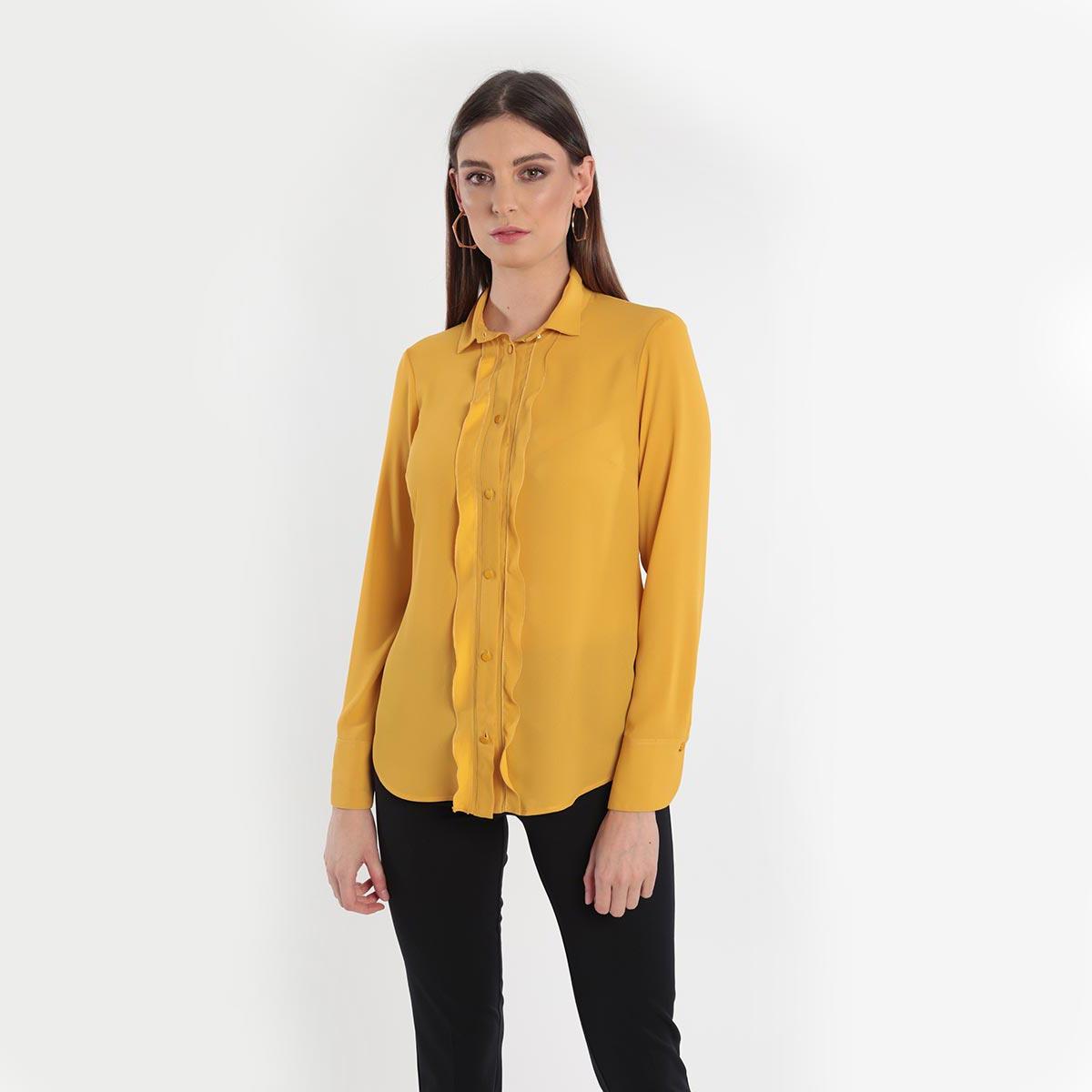 camicia con volant Primavera 2020 Meteore Fashion