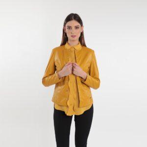Giacca in ecopelle donna Primavera 2020 Meteore Curvy Fashion