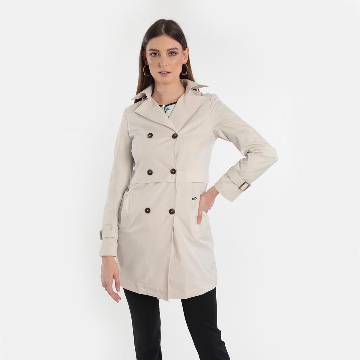 Trench donna curvy primavera 2020 Meteore Fashion