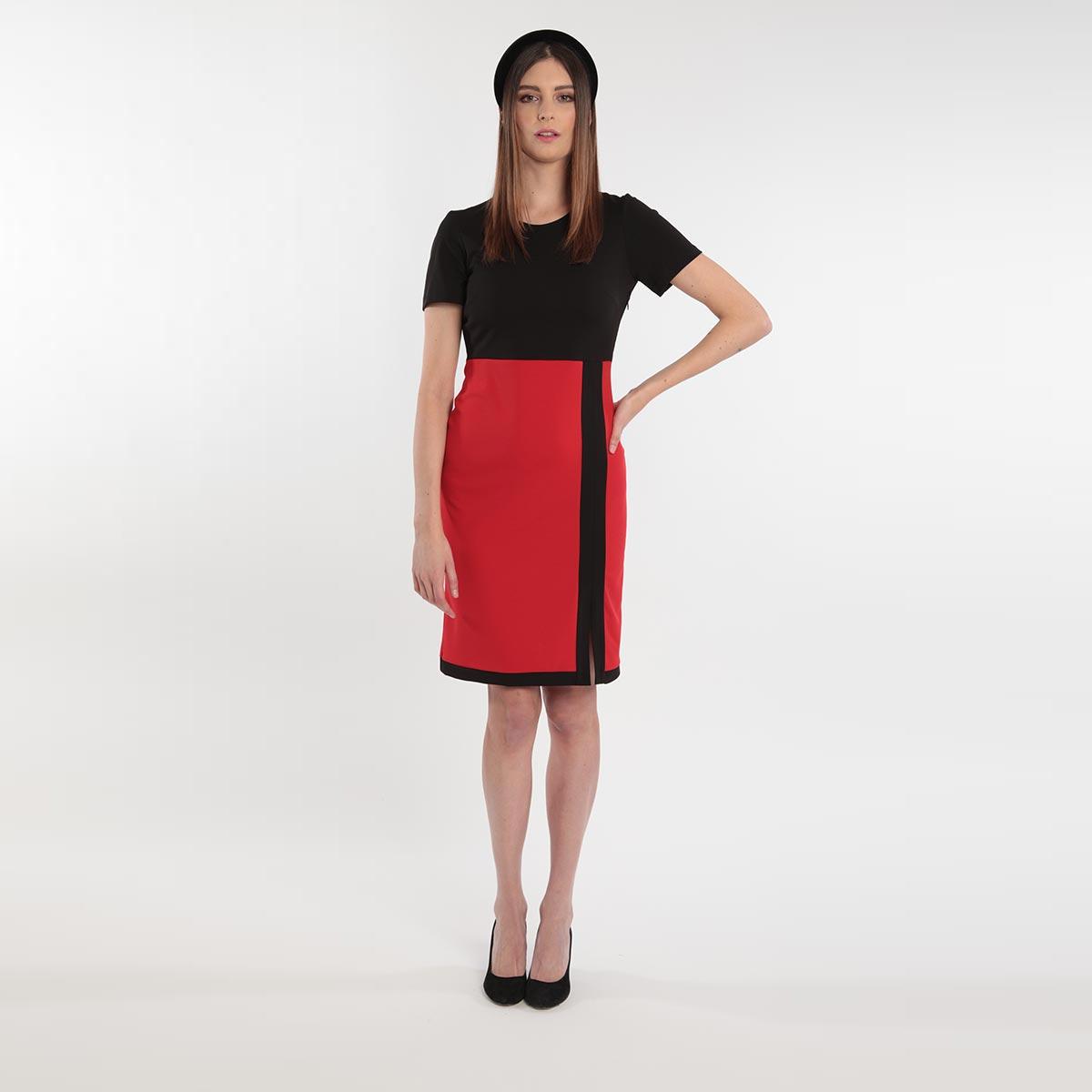 Abito dai colori vivaci donna curvy primavera 2020 Meteore Fashion