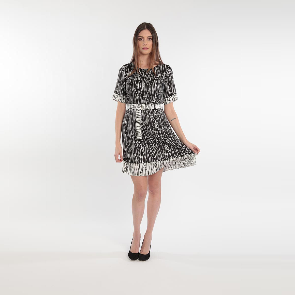 Abito per donne curvy primavera 2020 Meteore Fashion