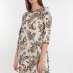 abito donna a tunica floreale primavera 2020 Meteore Fashion