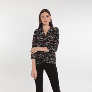 Camicia da donna fantasia Primavera 2020 Meteore Fashion