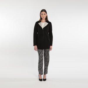 Giacca lunga in felpabicolore donne curvy primavera 2020 Meteore Fashion