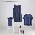 Abito Camicia e pantalone in lino. collezione estate 2020 Meteore Fashion