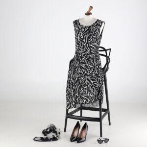 Vestito lungo fantasia. Collezione estate 2020 Meteore Fashion