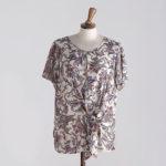 camicia donna fantasia meteore fashion
