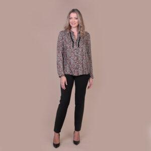 collezione autunno 2020 meteore fashion Camicia: Penny - Pantalone: Zen - Cardigan: Elba