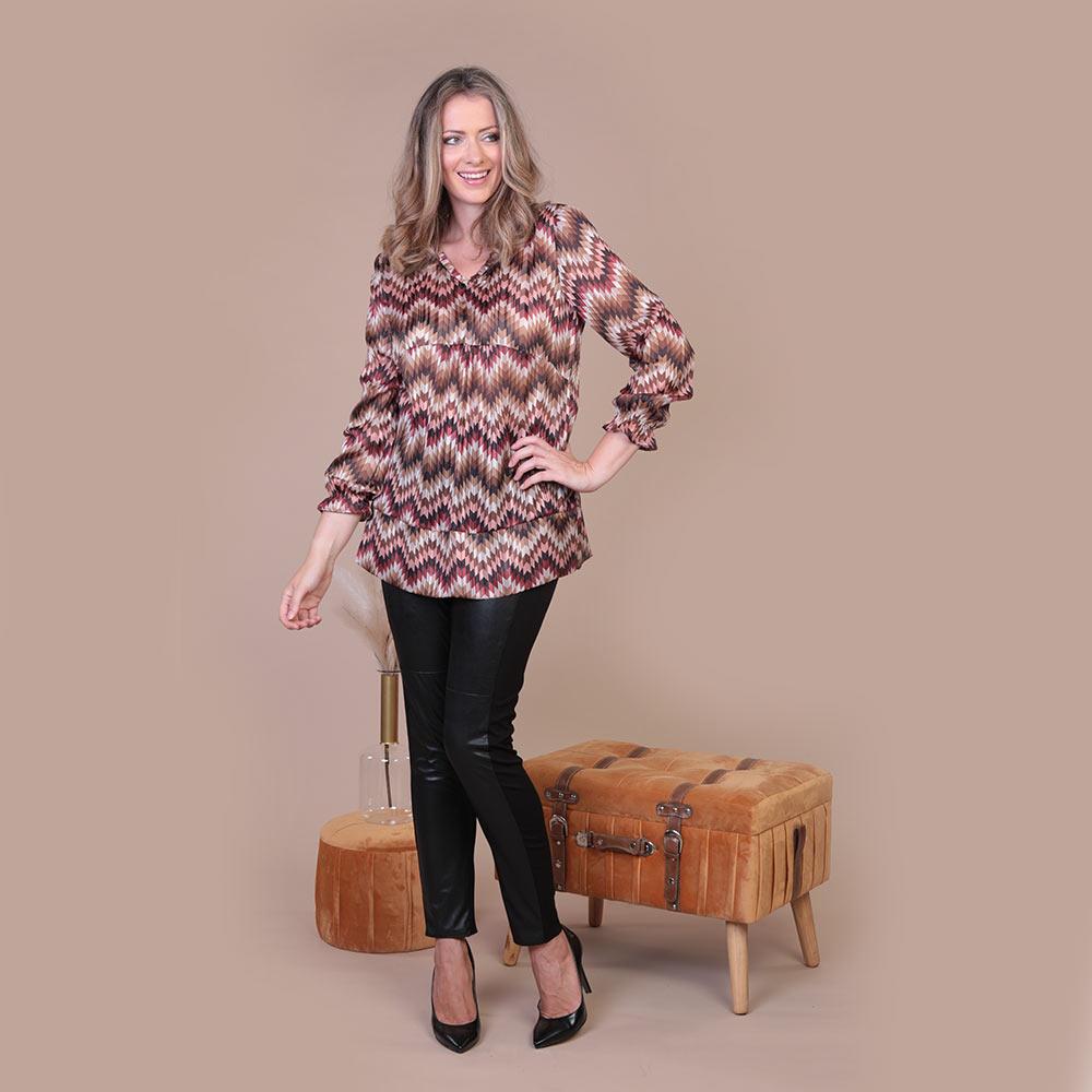 Collezione Autunno 2020 Meteore Fashion Camicia: N°26 - Pantalone: Ras