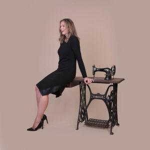 Collezione Autunno 2020 Abito tubino Meteore Fashion