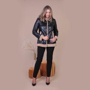Collezione Autunno 2020 Meteore Fashion Piumino con Eco Pelliccia: N°36