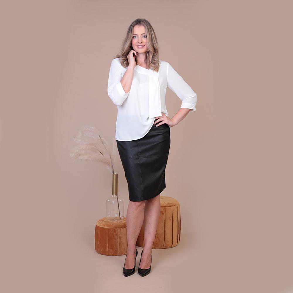 Collezione Autunno 2020 Meteore Fashion Camicia: Nacis - Gonna: Mantra