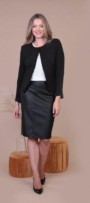 Collezione Autunno 2020 Meteore Fashion Giacchino: Nars - Gonna: Mantra
